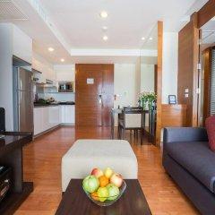 Отель Amanta Hotel & Residence Ratchada Таиланд, Бангкок - отзывы, цены и фото номеров - забронировать отель Amanta Hotel & Residence Ratchada онлайн комната для гостей фото 4