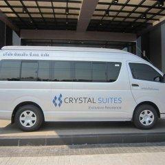 Отель Crystal Suites Suvarnabhumi Airport Бангкок городской автобус