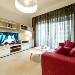 Отель Luxury Apartment With Pool Мальта, Слима - отзывы, цены и фото номеров - забронировать отель Luxury Apartment With Pool онлайн комната для гостей фото 4