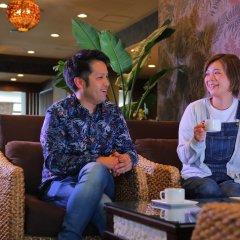 Green Hotel Yes Ohmi-hachiman Омихатиман гостиничный бар