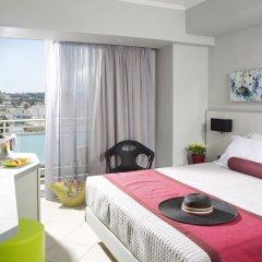 Отель Aquamare Hotel Греция, Родос - отзывы, цены и фото номеров - забронировать отель Aquamare Hotel онлайн комната для гостей фото 4