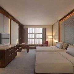 Гостиница Хаятт Ридженси Москва Петровский Парк 5* Стандартный номер с 2 отдельными кроватями фото 2