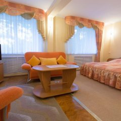 Гостиница СМОЛЕНСКОТЕЛЬ Смоленск комната для гостей фото 4
