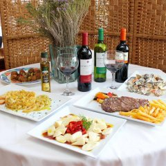 Отель Oasis Atalaya Испания, Кониль-де-ла-Фронтера - отзывы, цены и фото номеров - забронировать отель Oasis Atalaya онлайн питание