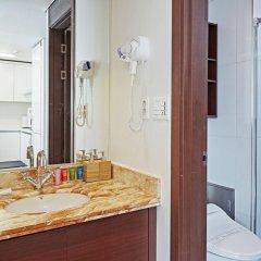 Отель Brown Suites Seoul Южная Корея, Сеул - 1 отзыв об отеле, цены и фото номеров - забронировать отель Brown Suites Seoul онлайн ванная