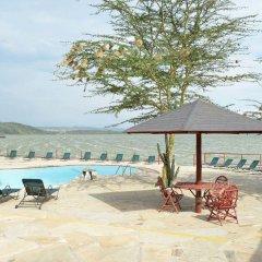 Отель Sentrim Elementaita Lodge Кения, Накуру - отзывы, цены и фото номеров - забронировать отель Sentrim Elementaita Lodge онлайн бассейн фото 2