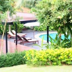 Отель Chaw Ka Cher Tropicana Lanta Resort бассейн