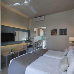 Отель Acharavi Beach Греция, Корфу - отзывы, цены и фото номеров - забронировать отель Acharavi Beach онлайн комната для гостей фото 5
