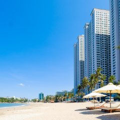 Апартаменты Sunrise Hon Chong Ocean View Apartment Нячанг пляж