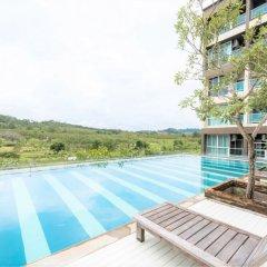 Отель JJ Airport Condotel Таиланд, пляж Май Кхао - отзывы, цены и фото номеров - забронировать отель JJ Airport Condotel онлайн бассейн