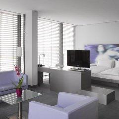Отель INNSIDE by Meliá München Parkstadt Schwabing Германия, Мюнхен - отзывы, цены и фото номеров - забронировать отель INNSIDE by Meliá München Parkstadt Schwabing онлайн комната для гостей фото 4