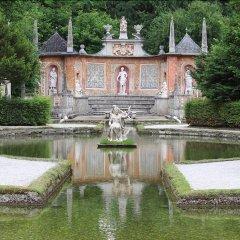 Отель Jufa Salzburg City Зальцбург приотельная территория