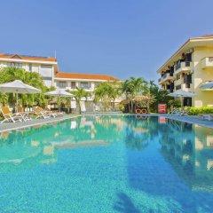 Отель Phu Thinh Boutique Resort And Spa Хойан бассейн фото 3