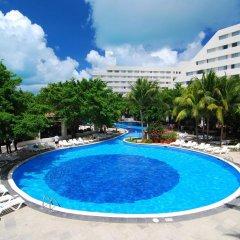 Отель Oasis Palm Hotel Мексика, Канкун - 9 отзывов об отеле, цены и фото номеров - забронировать отель Oasis Palm Hotel онлайн бассейн фото 2