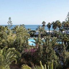 Отель Mediterranee Thalasso-Golf Хаммамет пляж фото 2
