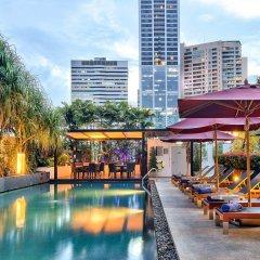 Отель Park Plaza Bangkok Soi 18 бассейн фото 3