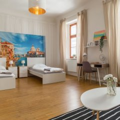 Апартаменты Internesto Apartments Downtown Брно комната для гостей фото 2