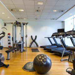 Отель Crowne Plaza Brussels Airport фитнесс-зал