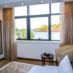 Отель Mamba Point Hotel Freetown Сьерра-Леоне, Фритаун - отзывы, цены и фото номеров - забронировать отель Mamba Point Hotel Freetown онлайн комната для гостей фото 2