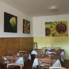 Отель Albergo Alla Posta Базилиано гостиничный бар