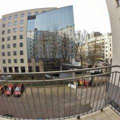 Отель MTB Apartamenty Marszalkowska Польша, Варшава - отзывы, цены и фото номеров - забронировать отель MTB Apartamenty Marszalkowska онлайн балкон