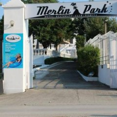 Отель Merlin Park Resort Тирана банкомат