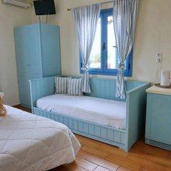 Отель Saronis Hotel Греция, Агистри - отзывы, цены и фото номеров - забронировать отель Saronis Hotel онлайн комната для гостей фото 3