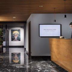 Отель Metropolitan Hotels Bosphorus интерьер отеля
