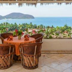 Отель Villas San Sebastián Мексика, Сиуатанехо - отзывы, цены и фото номеров - забронировать отель Villas San Sebastián онлайн пляж фото 2