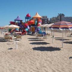 Отель Residence Blu Mediterraneo Римини пляж фото 2
