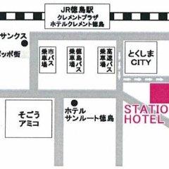 Tokushima Station Hotel Минамиавадзи городской автобус