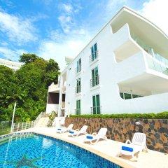 Отель Shanaya Residence Ocean View Kata Пхукет бассейн фото 3