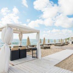 Отель Algara Beach Hotel - All Inclusive Болгария, Кранево - отзывы, цены и фото номеров - забронировать отель Algara Beach Hotel - All Inclusive онлайн пляж