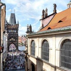Отель U Zlateho Stromu Прага балкон