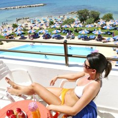 Corallia Beach Hotel Apartments in Paphos, Cyprus from 74$, photos, reviews - zenhotels.com balcony