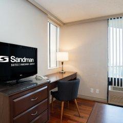 Отель Sandman Suites Vancouver on Davie Канада, Ванкувер - отзывы, цены и фото номеров - забронировать отель Sandman Suites Vancouver on Davie онлайн удобства в номере