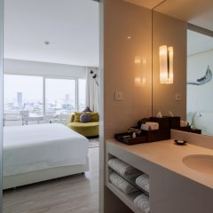 Отель Centara Watergate Pavillion Hotel Bangkok Таиланд, Бангкок - 4 отзыва об отеле, цены и фото номеров - забронировать отель Centara Watergate Pavillion Hotel Bangkok онлайн ванная фото 2
