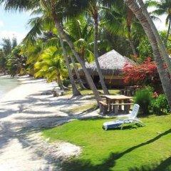 Отель Eden Beach Hotel Bora Bora Французская Полинезия, Бора-Бора - отзывы, цены и фото номеров - забронировать отель Eden Beach Hotel Bora Bora онлайн пляж