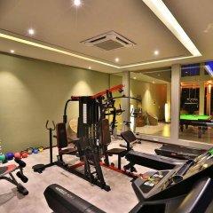 Отель Chaarya Resort & Spa by Chandrika фитнесс-зал