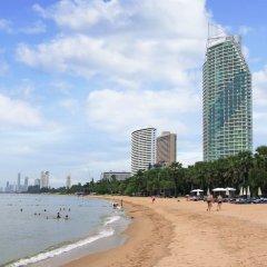 Отель White Sand Beach Residences Pattaya пляж фото 2
