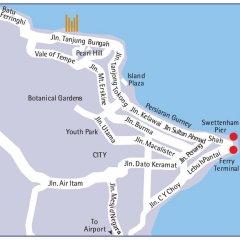 Отель Copthorne Orchid Hotel Penang Малайзия, Пенанг - отзывы, цены и фото номеров - забронировать отель Copthorne Orchid Hotel Penang онлайн городской автобус