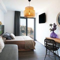 Отель Hostal Restaurant Sa Malica Бланес комната для гостей