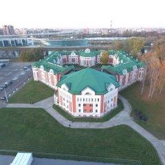 Гостиница Парк Крестовский вид на фасад фото 2