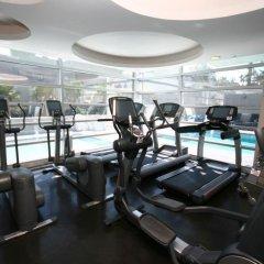 Отель The Place Corporate Rentals Мехико фитнесс-зал
