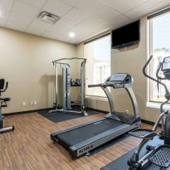Отель Super 8 Kings Mountain Южный Бельмонт фитнесс-зал