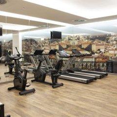 Отель Jupiter Lisboa Hotel Португалия, Лиссабон - отзывы, цены и фото номеров - забронировать отель Jupiter Lisboa Hotel онлайн фитнесс-зал фото 3