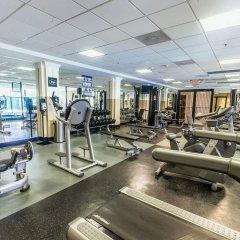 Отель Crowne Plaza Hotel-Newark Airport США, Элизабет - отзывы, цены и фото номеров - забронировать отель Crowne Plaza Hotel-Newark Airport онлайн фитнесс-зал фото 2