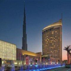Отель Address Dubai Mall Residences Дубай вид на фасад