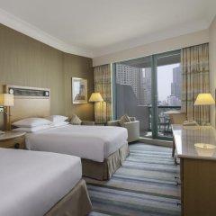 Отель Hilton Dubai Jumeirah 5* Представительский номер с различными типами кроватей фото 20