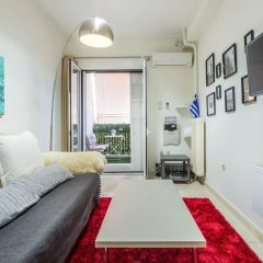 Отель Adorable flat for 4 ppl in Kolonaki Греция, Афины - отзывы, цены и фото номеров - забронировать отель Adorable flat for 4 ppl in Kolonaki онлайн комната для гостей фото 4